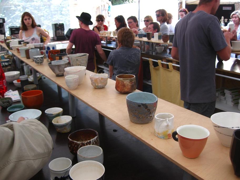 Ceramic Fair Cafe at Saint Sulpice