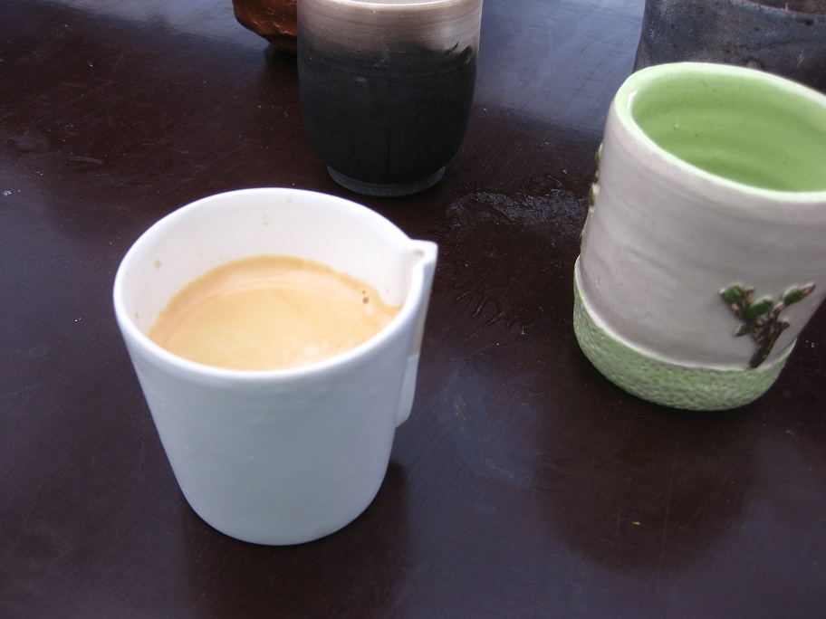 My cup at Saint Sulpice Ceramics Fair