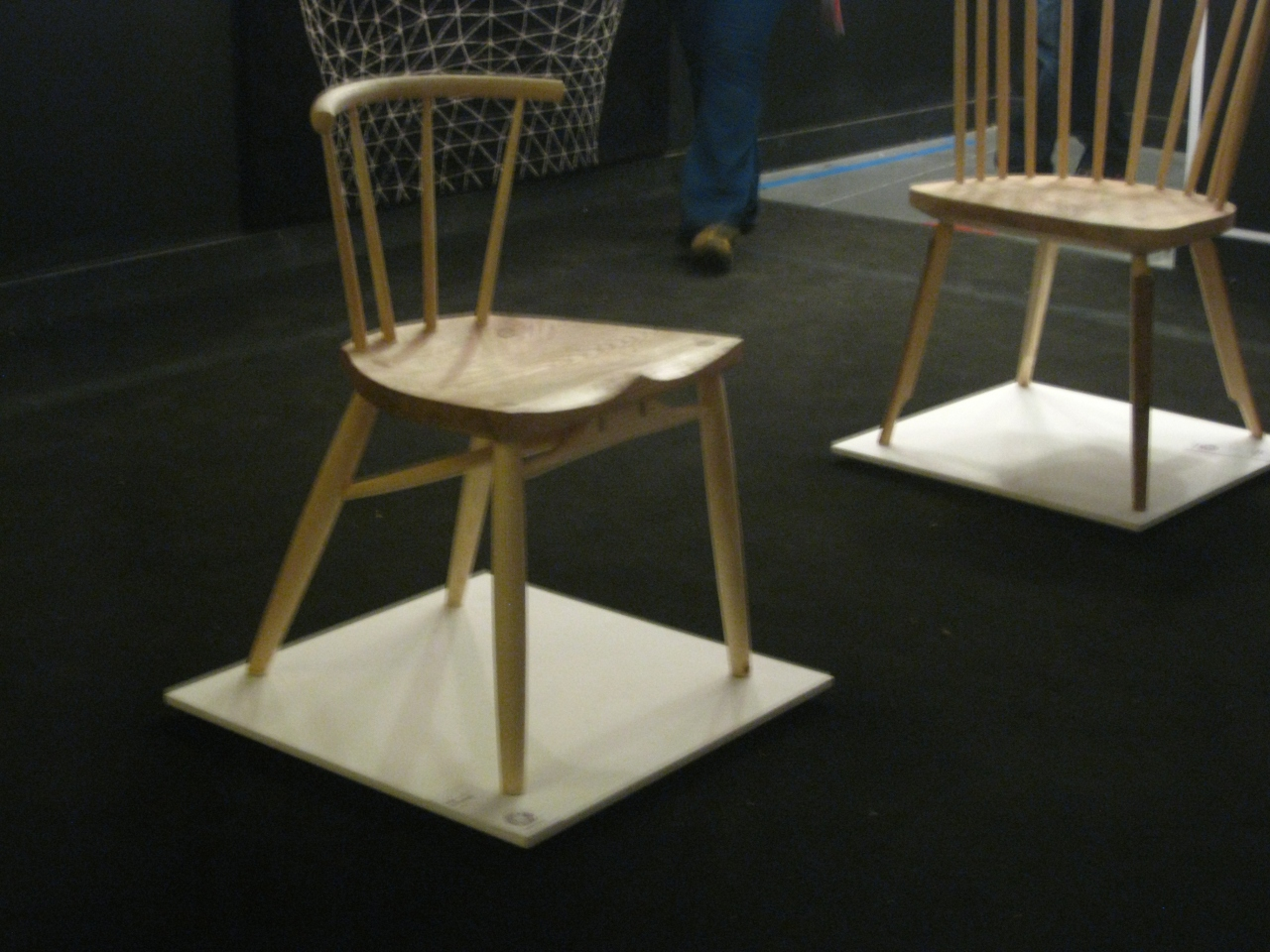Koji Katsuragi greenwood chair