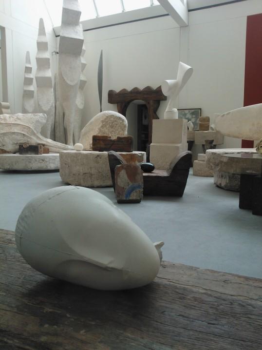 In the Atelier Brancusi