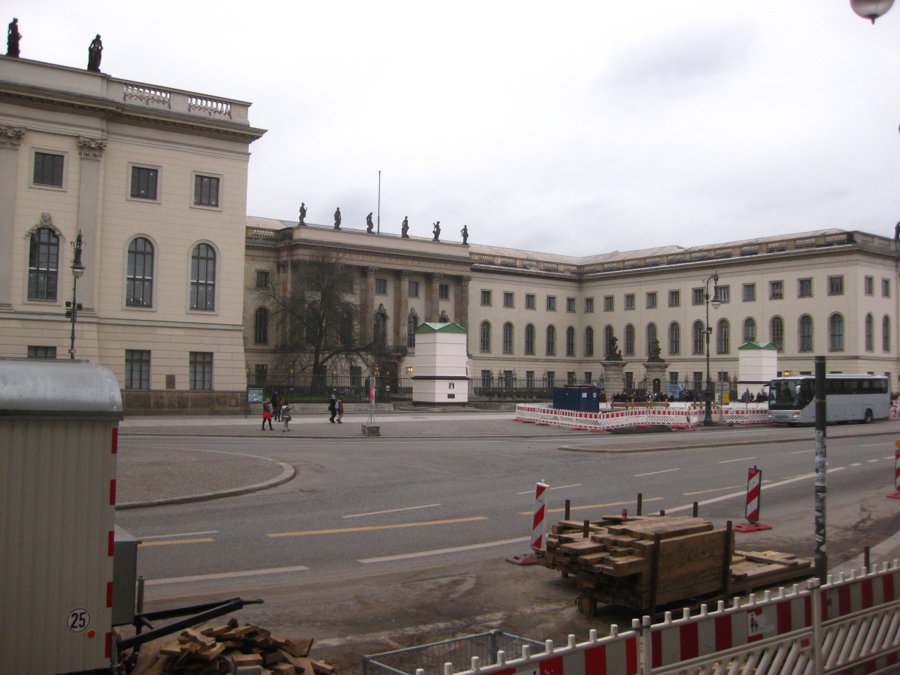 Berlin Construction Humboldt University